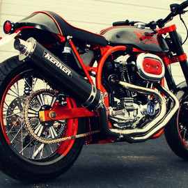 Norley - American Cafe Racer by Santiago Chopper
