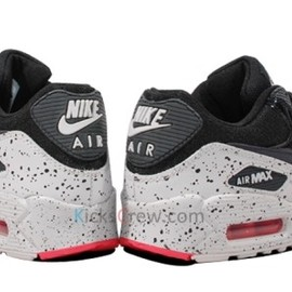 Nike - Air Max 90 - Black/Lite Base Grey/Geranium