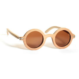 Waiting For The Sun - 19.6g Natural Lunettes by Waiting For The Sun for Preorder on Moda Operandi