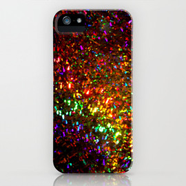 Fascination in gold iPhone Case