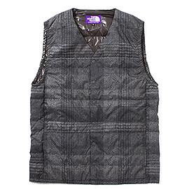 THE NORTH FACE PURPLE LABEL - PERTEX® Tweed Print Down Vest