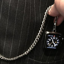 TOM FORD - Custom Apple Watch pocket watch