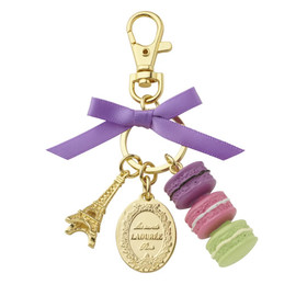 Laduree - Key Ring (Cassis Violet)