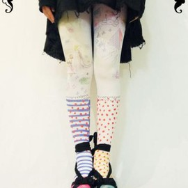 pielpie - rakuga:kid's tights