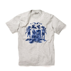 White Mountaineering - EMBLEM PRINTED S/S TEE