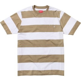 Supreme - Striped Pocket Tee