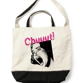 UNDERCOVER - TOTE BAG - SCREAMING ブラック