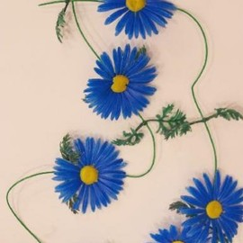 KITSCH KITCHEN - Flower garland Daisy BL