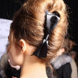 hair - french twist