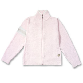 Kashwere - Jacket Signature - Pink w/White Army