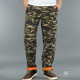 Carhartt - Savat Pant - Camo/Orange