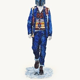 JOHN WOO - He Wears It 007 - Jango Fett wears COMME des GARCONS