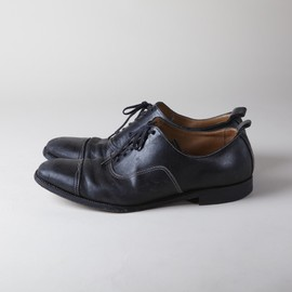 Rock Steady - Leather Cap Toe Shoes
