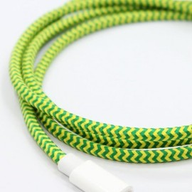 Eastern Collective - Lightning Collective Cable - Fluorescent - Green/Yellow