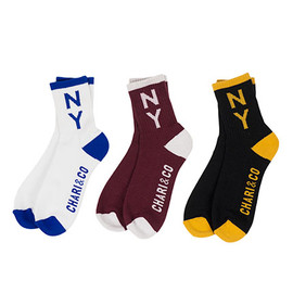 chari&co nyc - COLLEGE DROP OUT SOCKS