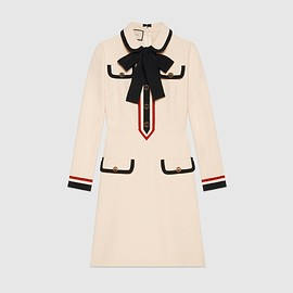 GUCCI - SS2018 Jersey dress with bow