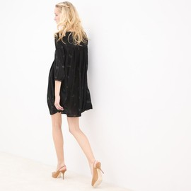 GIRL. BY BAND OF OUTSIDERS - EMPIRE CROPPED SLEEVE DRESS