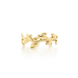 Tiffany & Co. - OLVE LEAF BAND RING