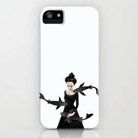 "society6 - iPhone5 case ""News from afar"""