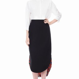 TSUMORI CHISATO - DOUBLE FACE 2 PENCIL SKIRT