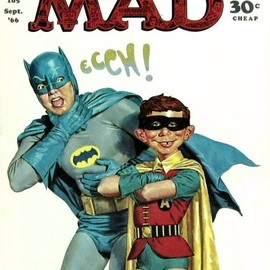 mad magazine - Cover of Mad Magazine Sept 1966. Via