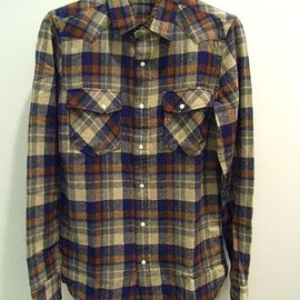 N.HOOLYWOOD - 08AW WOOL CHECK SHIRT (1141 pieces)