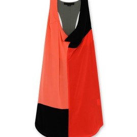 Alexander Wang - Color blocked tank dress