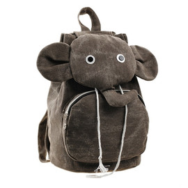 alanatt - Lovely Elephant Canvas Backpack