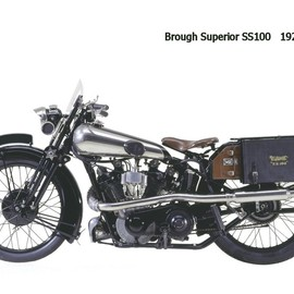 Brough Superior - Brough Superior SS100  1926