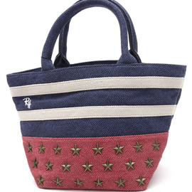 RonHerman - RonHermanSTUDSTOTEBAG[トートバッグ]NAVY277-001904-017+【新品】【smtb-TD】【yokohama】