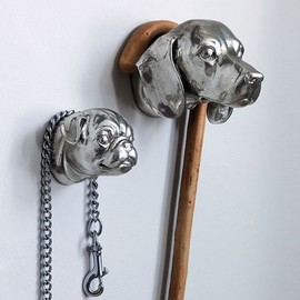 Graham & Green - Dog Head Hooks