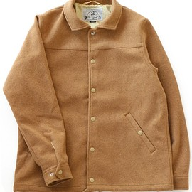 bal - Wide Color Coaches Jacket (camel)