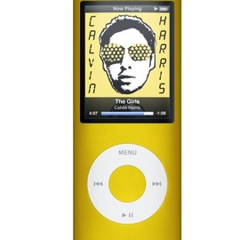 Apple - Apple iPod nano 8 GB Yellow (4th Generation)