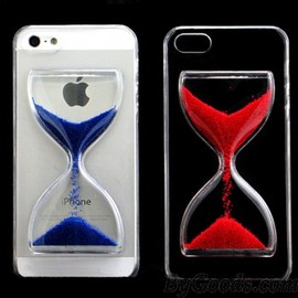 Creative Crystal Hourglass Iphone 4/4s/5/5s Case