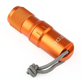 VERY100 - EDC Survival Waterproof Pill/Match Case Box Container Lid - Orange