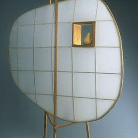 Russell Moccasin - Dacron and Maple 'Grasshopper Screen', 1993