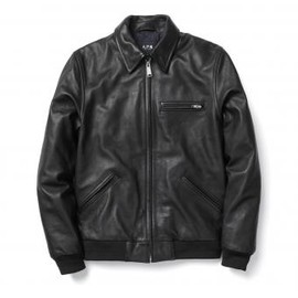 A.P.C. × Carhartt - Detroit Leather Jacket