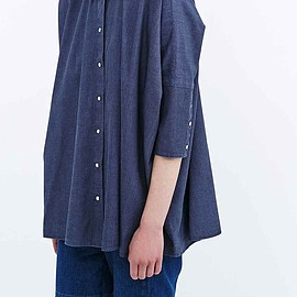 MM6 - Chambray Denim Oversized Shirt
