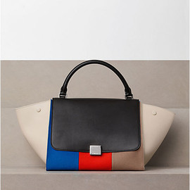 CELINE - TRAPEZE IN MULTICOLOR CANVAS
