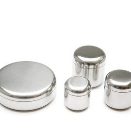 Alessi - The tin family  S/M/L/Container