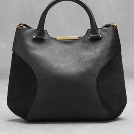 Other Stories - アンド・アザー・ストーリーズ(& Other Stories)レザーショルダーバッグ  Leather shoulder bag Black 1