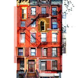 Tommy Cinquegrano - Tenement #1 COLOR XL