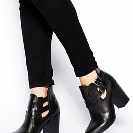 asos - ENDLESS  Leather Ankle Boots