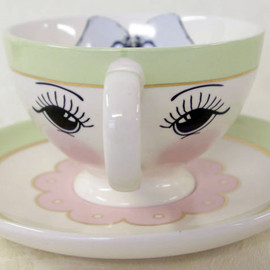 miss etoile - 【T-cup & saucr w/eyes Green 】