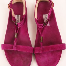 JIMMY CHOO - FLATS/hot pink