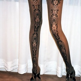 Wolford - Lace Print Stockings