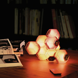 QisDesign - Crystal Table Lamp-MULTI COLOUR