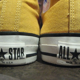 CONVERSE - オールスター made in usa 90's