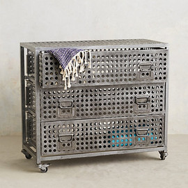 Anthropologie - Galvanized Dresser