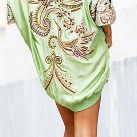 Emilio Pucci - bomber dress, Alexander Wang Aline sandals